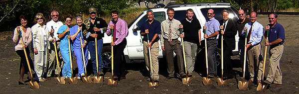 Breaking Ground of the Plymouth Heights hospital you have come to love today.